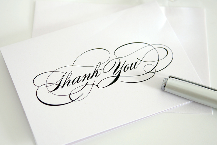 Jimmy Fallon Thank You Notes…the Write On Target Way